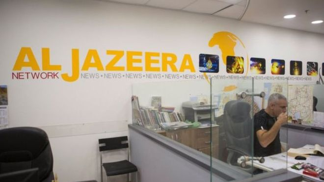 التايمز الإمارات تراجعت عن مطلب إغلاق قناة الجزيرة Tabrenkout